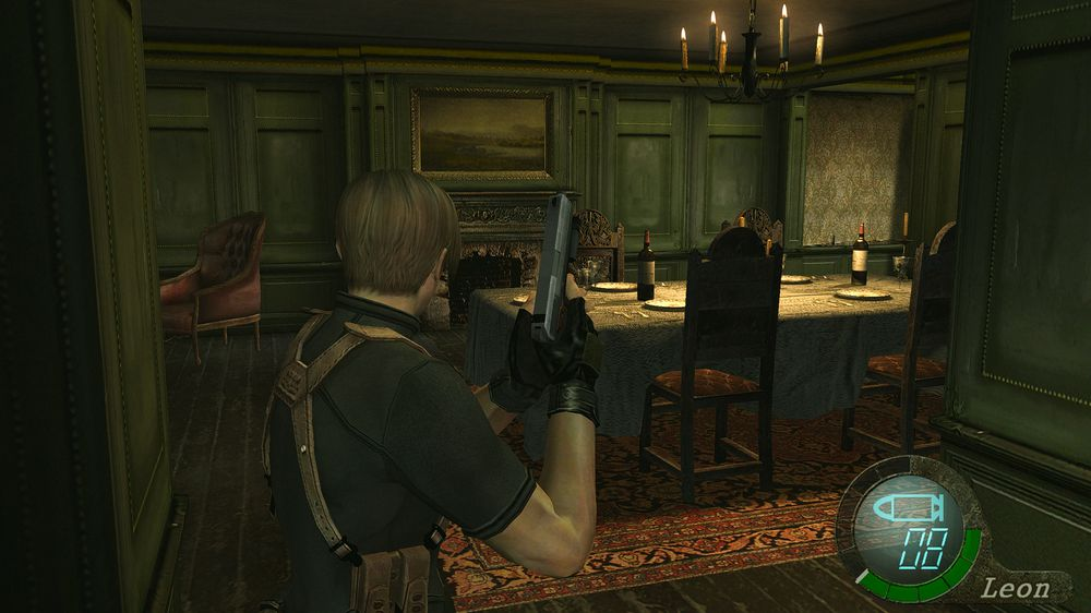 Screenshot Shinobu Fix Like On Gamecube Resident Evil 4 Hd