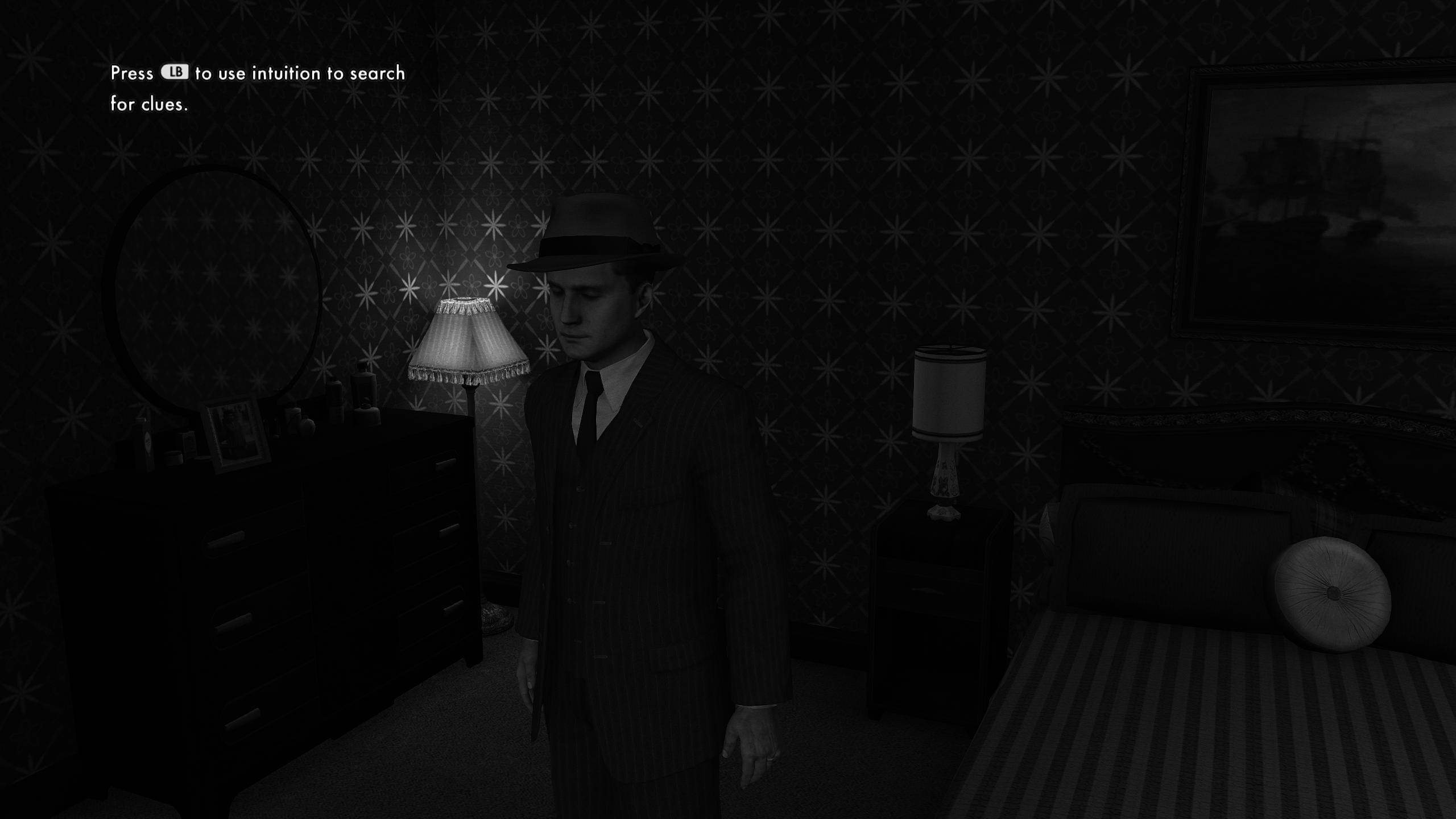Screenshot True Noir La Noire